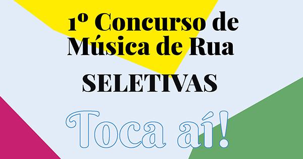 Apresentações Seletivas - 1 Concurso de Música de Rua Pátio Metrô São Bento