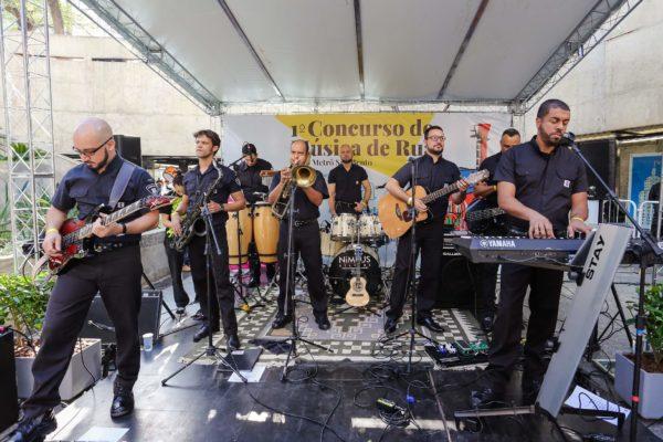 1° Concurso De Música De Rua Toca Aí Final Banda do Seguranças do Metrô