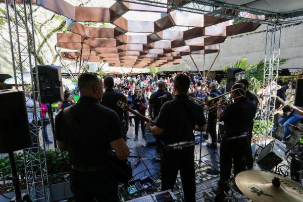 1° Concurso De Música De Rua Toca Aí Final Banda dos Seguranças do Metrô