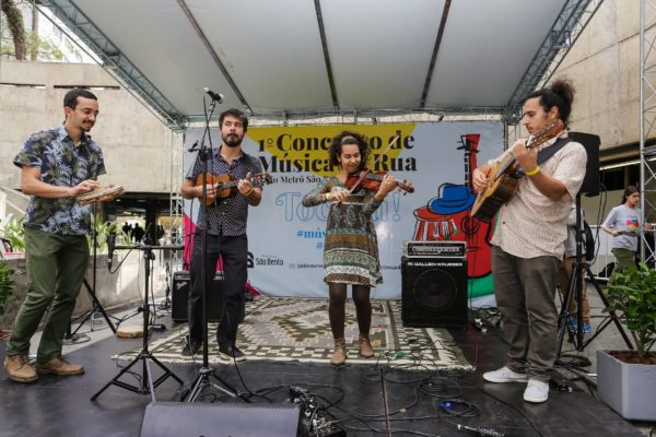 1° Concurso De Música De Rua Toca Aí Final Fios de Choro