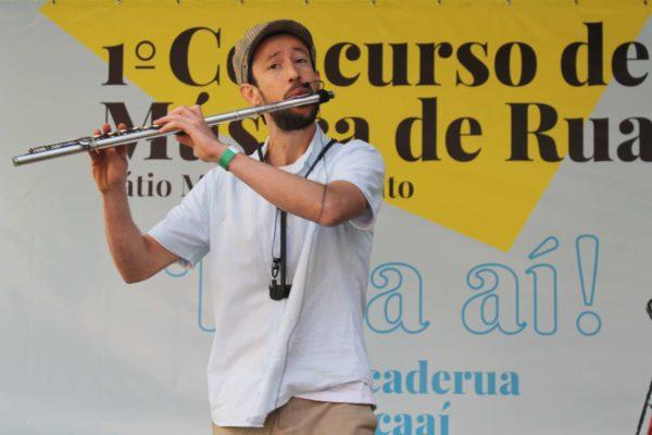 1° Concurso de Música de Rua Toca Aí do Pátio Metrô São Bento Terceira Eliminatória Thiago Branduliz