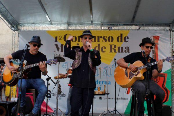 1° Concurso de Música de Rua Toca Aí do Pátio Metrô São Bento Terceira Eliminatória língua de trapo