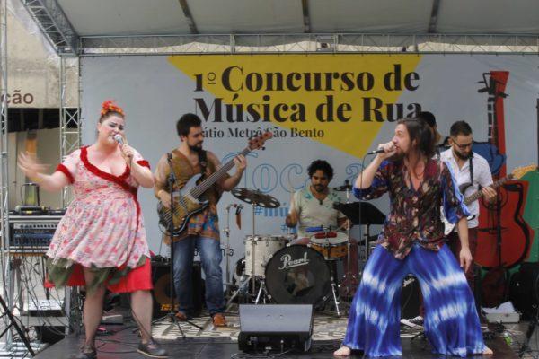 1 Concurso de Música de Rua Toca Aí Pátio Metrô São Bento Bolero Freak