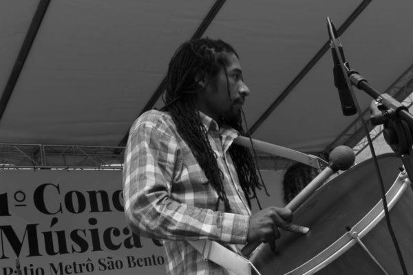 1 Concurso de Música de Rua Toca Aí Pátio Metrô São Bento Trilha Trio