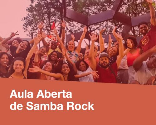 Programação Pátio Metrô São Bento Aula Aberta de Samba Rock