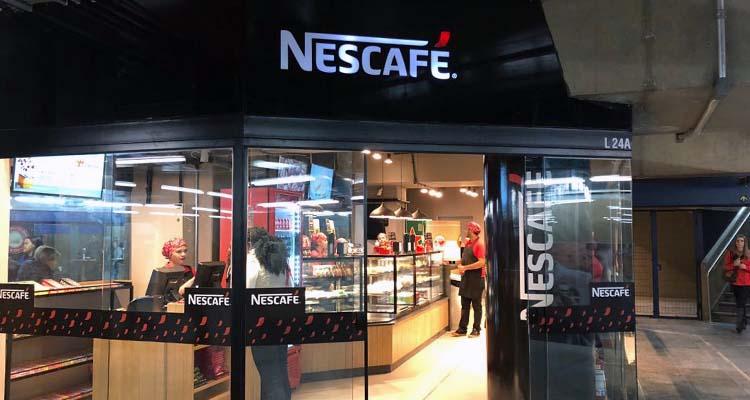 Lojas Pátio Metrô São Bento Nescafé