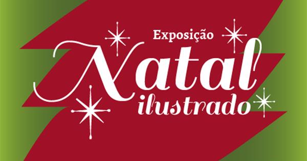 Exposição Natal Ilustrado Pátio Metrô São Bento