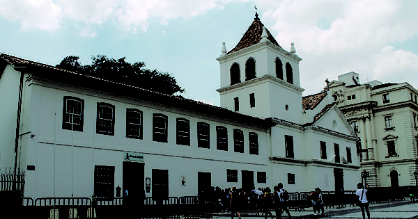Viva SP Pátio Metrô São Bento Tour Guiado pelo Centro Histórico Caminhos do Triângulo Patteo do Collegio