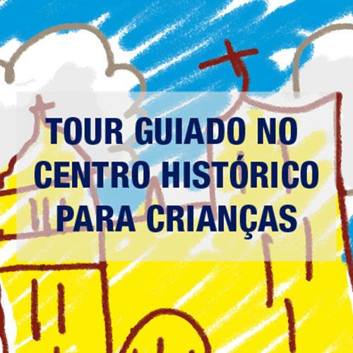 Programação Pátio Metrô São Bento Tour Guiado no Centro Histórico para Crianças